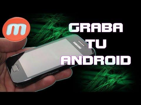 Como grabar la pantalla de tu dispositivo Android [Sin ROOT]