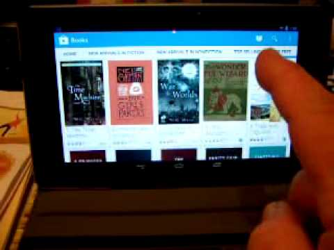 get a free book on your Google Tablet.