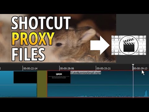 Shotcut Proxy Media for Faster Editing Tutorial (Free, Portable 4K Video Editor)