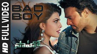 Saaho(Telugu) | Bad Boy Song | Prabhas, Jacqueline Fernandez | Badshah, Neeti Mohan