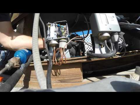 HOW TO REPLACE LOW PRESSURE SWITCH ON REFRIGERATOR CONDENSER UNIT. 1080HD