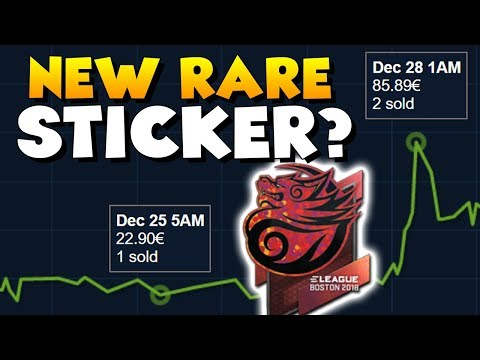 CS:GO - New RARE Sticker? Tyloo dropping out of ELEAGUE Major 2018!