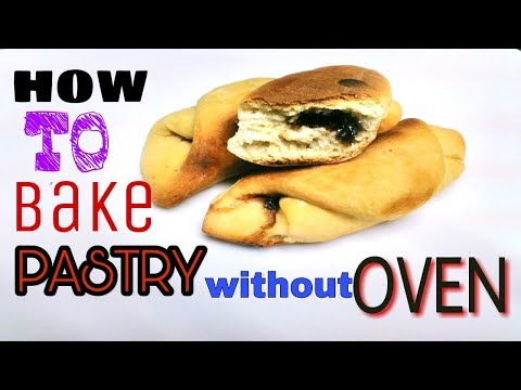Chocolate Pastry Baking Without Oven   Soft Chocolate Pastry   Chocolate Puff Recipe_FOODBUZZ
