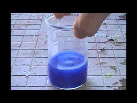 Copper/Ammonia Coordination Complex and Copper (II) Chloride