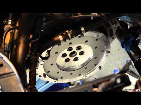 Focus ST How-to: Flywheel & Clutch Removal & Installation