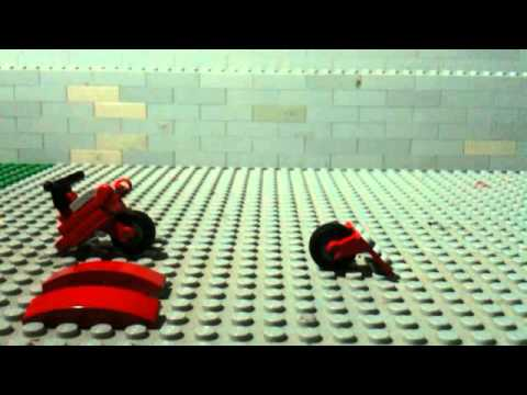 How to make a lEGO deadpool scooter.