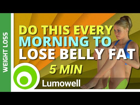 Belly Fat Workout. Do This Every Morning To Start Losing Belly Fat