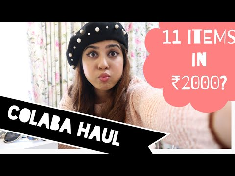 My Latest Colaba Haul | Style on a budget! | With Love Inaaya