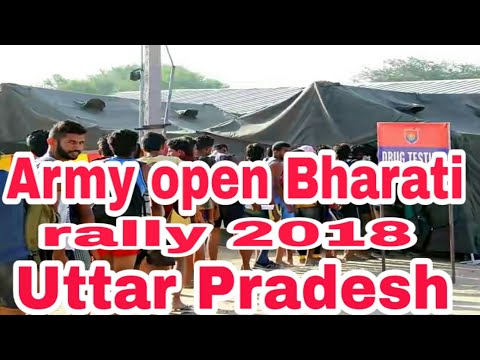Uttar Pradesh army open Bharati rally