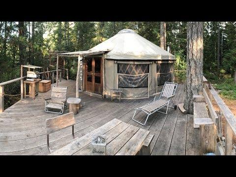 PADMA Yurt re-treat, British Columbia, Canada