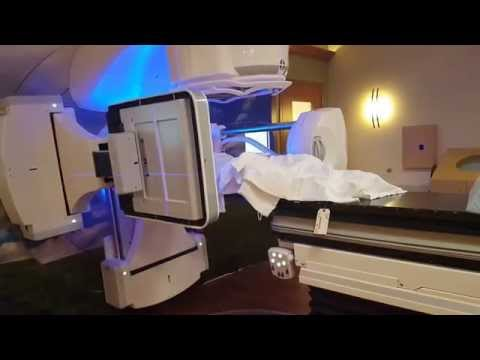 Receiving radiation for anal cancer