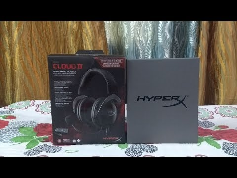 HyperX Cloud II unboxing review | budget headset for gamers