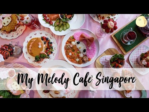 My Melody Café Singapore – Pink Cafe With Pink Food