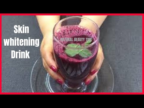 Permanent Skin Whitening Drink / Miracle juice for Skin Whitening Clear and flawless Skin complexion