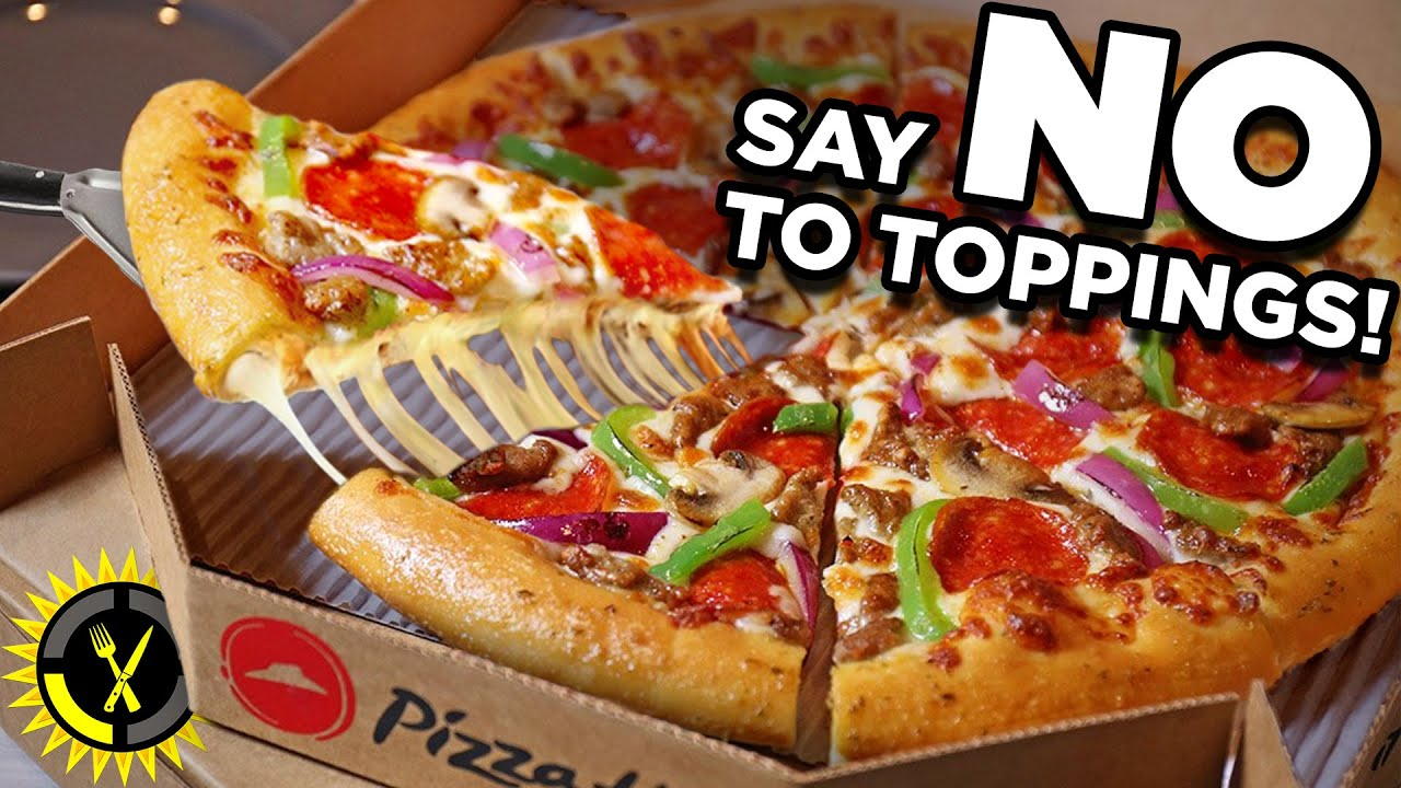 Food Theory: STOP Ordering Your Pizza Like This!