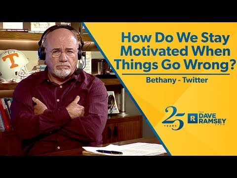 How Do We Stay Motivated When Things Go Wrong?