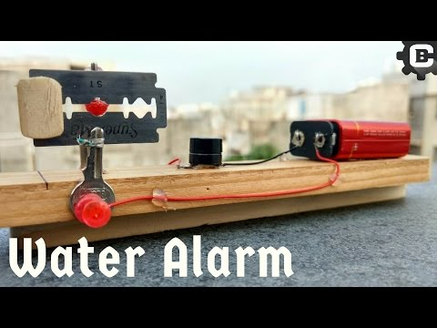 How to make Water Level Indicator with Alarm