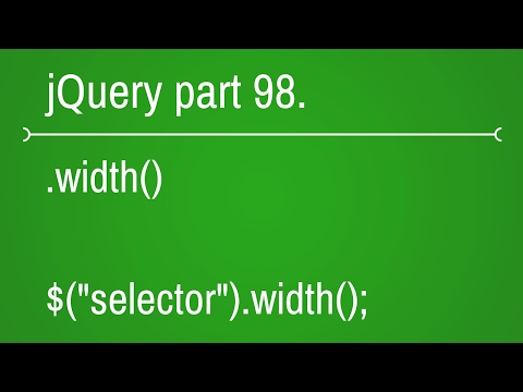 jquery width function - part 98