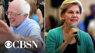 2020 Daily Trail Markers: Sanders and Warren bring different messages to New Hampshire