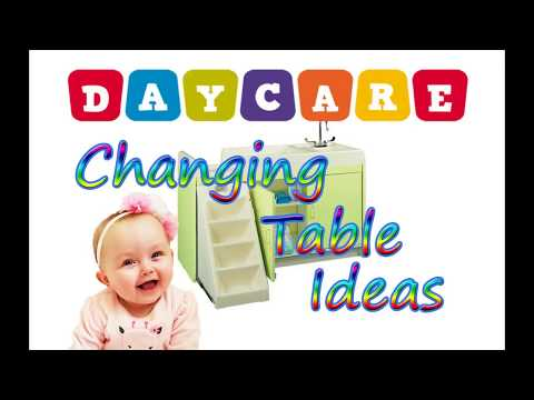 Daycare & Childcare Changing Table Ideas and Examples