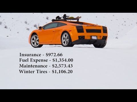 Running costs to Daily Drive a Lamborghini?!
