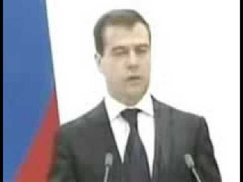 Медведев послал на х.. Буша