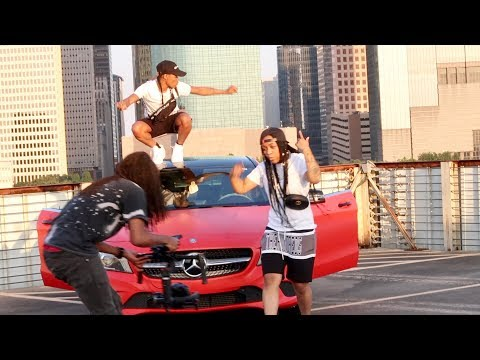 BEHIND THE SCENES OF OUR MUSIC VIDEO!! FT. DOMO AND CRISSY