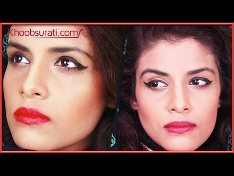 Make your Nose Appear Sharper & Thinner with Makeup by Khoobsurati.com