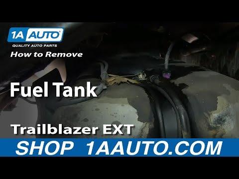 How To Remove Install Fuel Tank GMC Envoy XL Chevy Trailblazer EXT