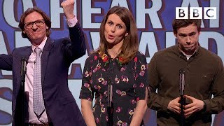 Unlikely things to hear at an award show | Mock The Week - BBC