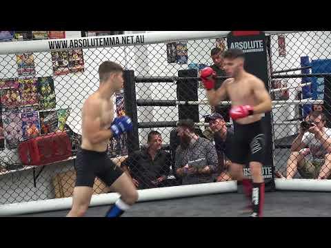 Rogue MMA part 2 Finnian Kinsella vs Troy Fomo