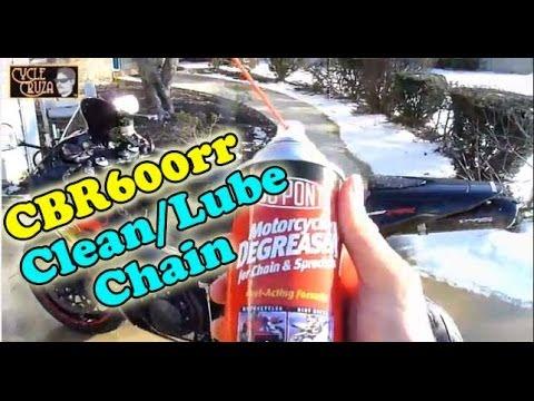 Clean Motorcycle Chain - DIY Maintenance Series