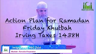 Action Plan for Ramadan by Karim AbuZaid
