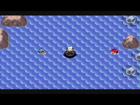 Pokémon Emerald No Evolutions - Pt 62 - Let's Dive!  Underwater Pokémon Encounter!