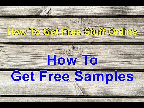 How To Get Free Stuff Online | How To Get Free Samples