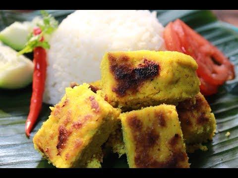 চিংড়ি মাছের পিঠে রেসিপি -  Shrimp Cake - Prawn Cake - Chingri Pitha - A Traditional bengali dish