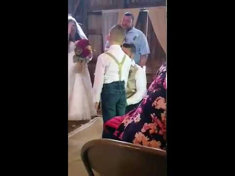 Stepfather's emotional vows to new son will bring you to tears
