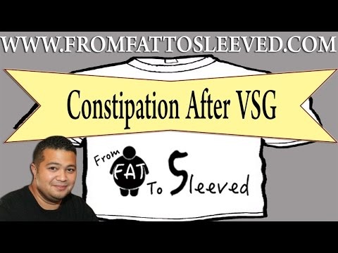 VSG Weight Loss Surgery Journey  - Constipation After Weight Loss Surgery