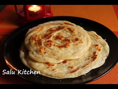 How to make Soft Parotta / Kerala poratta