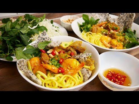 Mì Quảng - Cách nấu Mì Quảng và cách làm sợi Mì Quảng tươi tại nhà by Vanh Khuyen