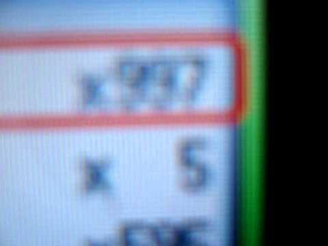 999 masterballs on pokemon diamond