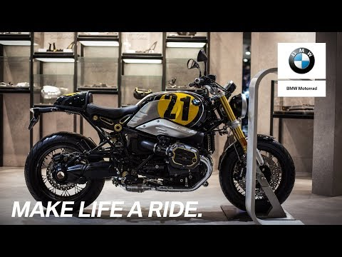 How to design your own BMW motorcycle.