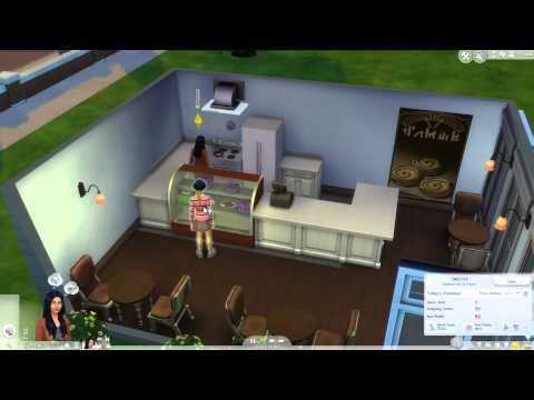 Nia's Crappy Bakery - The Sims 4 Get To Work Ep.2