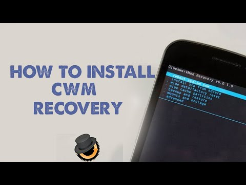 How to install CWM recovery without PC| Flash a recovery