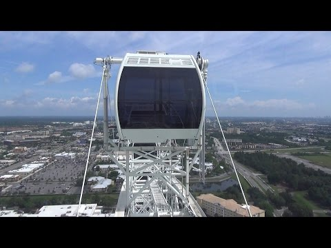 Orlando Eye Ride Highlights w/Views of Walt Disney World's Magic Kingdom & Epcot; Universal Studios