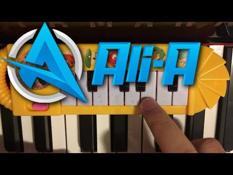 ALI-A INTRO SONG PLAYED ON A $1 PIANO