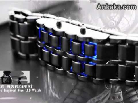 How-to-change-the-time-of-Blue-LED-Watch.flv