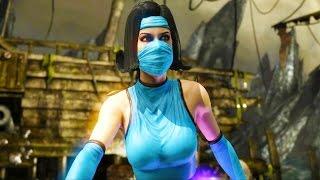 Mortal Kombat X - Kitana MK2 Costume Arcade Ladder Gameplay Playthrough
