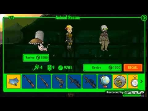 Fallout Shelter 1.6 Update - Animal Rescue Quest gameplay