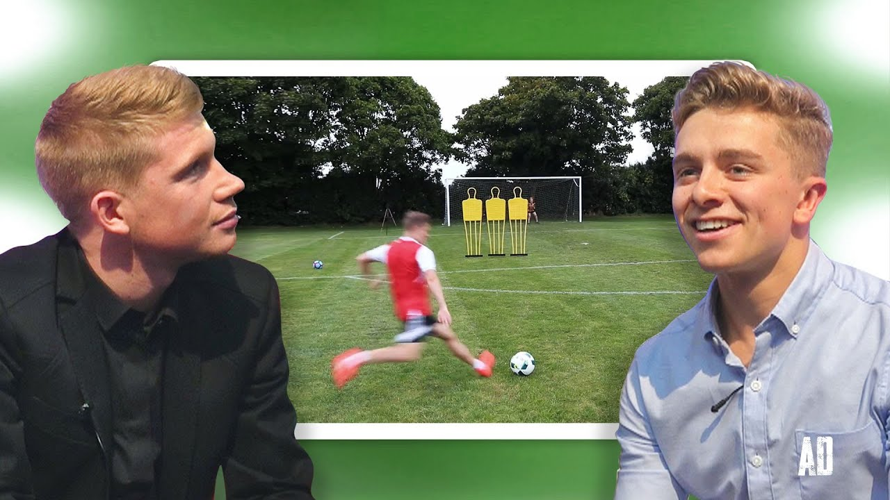 Kevin De Bruyne Reacts To My Best Free Kicks Ever